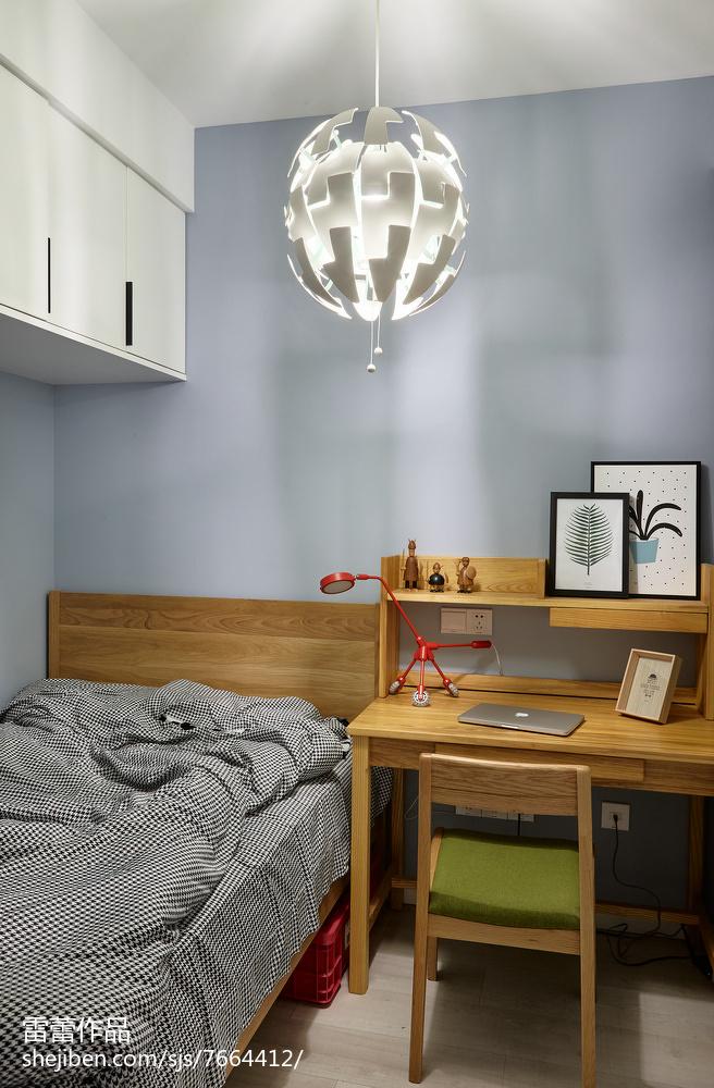 86平米北欧公寓装修图片欣赏