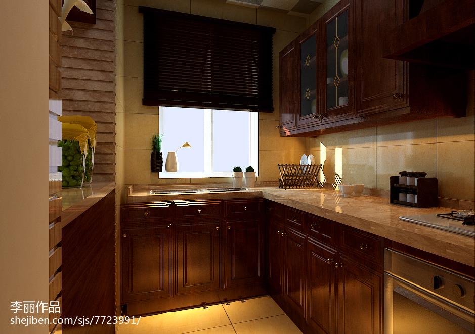 东南亚复式厨房图片