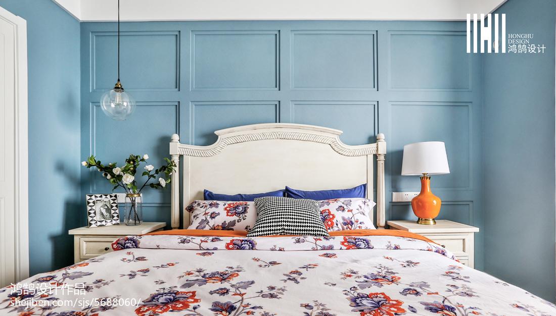 精选三居卧室美式效果图片大全