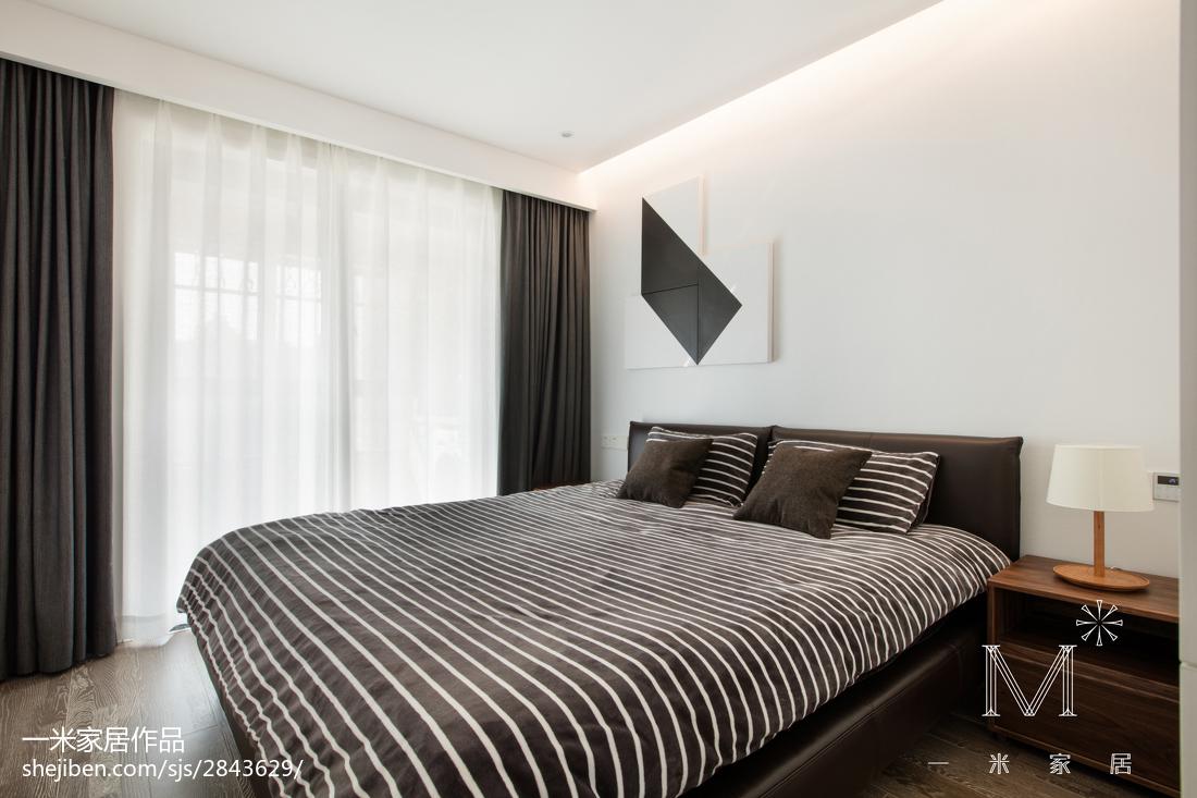 华丽80平北欧三居卧室效果图欣赏