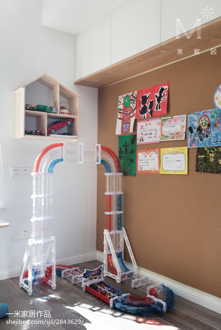 精美面积97平北欧三居儿童房装修设计效果图片大全