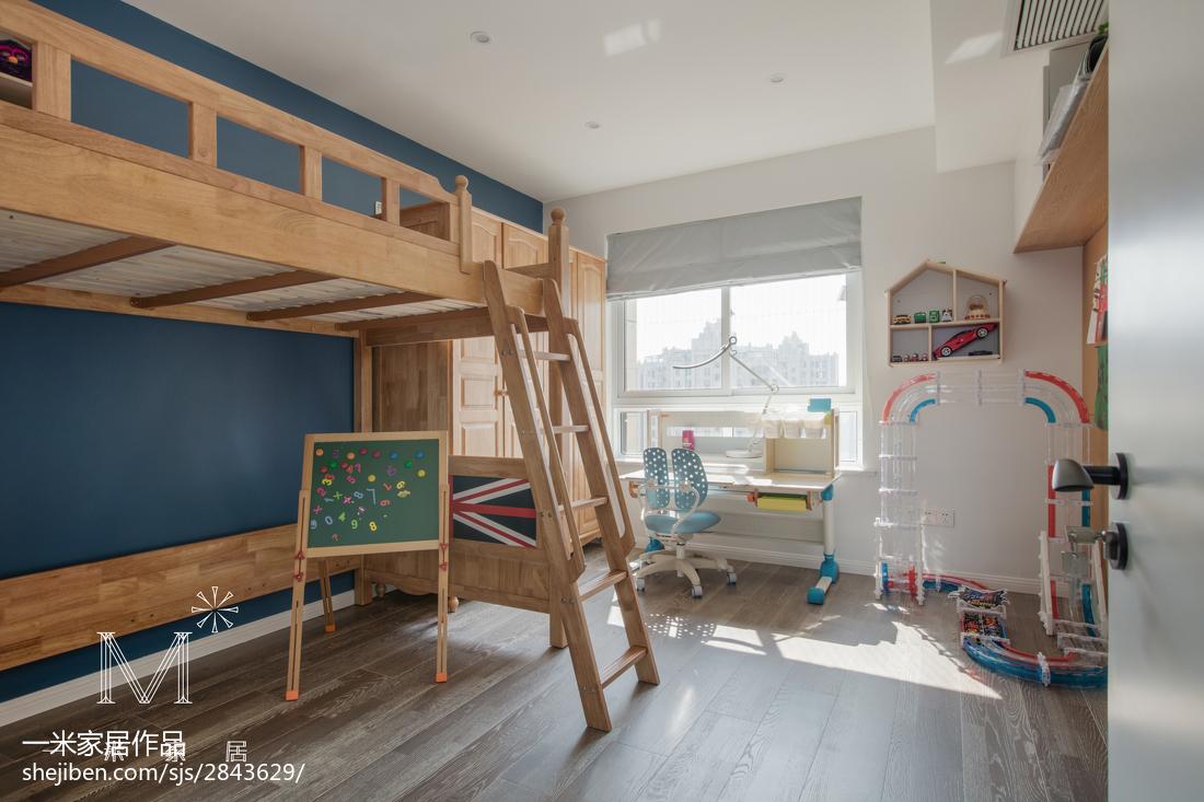 热门北欧三居儿童房装修欣赏图片大全