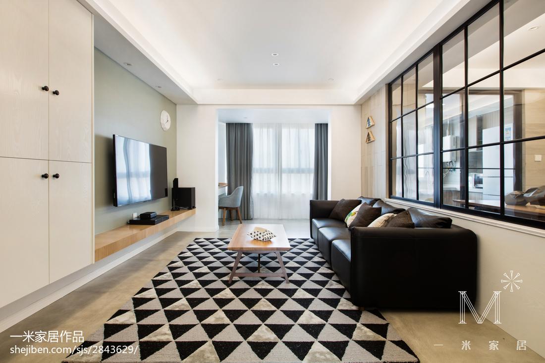 201895平米三居客厅北欧欣赏图