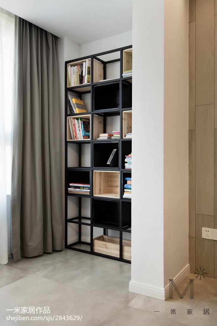 2018精选面积108平北欧三居客厅效果图