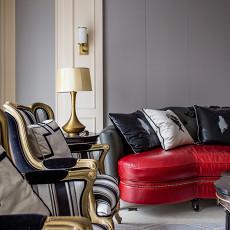 热门111平米欧式复式客厅实景图片大全