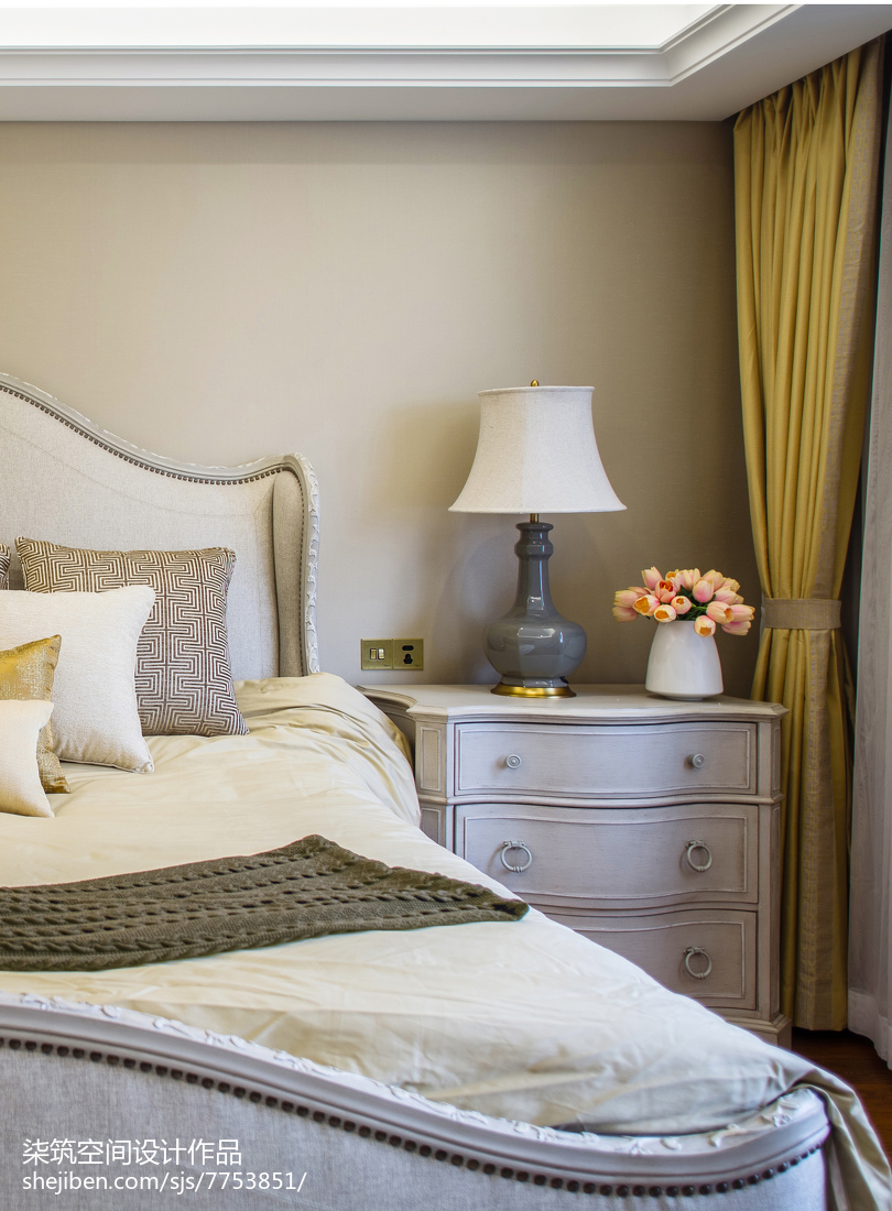 欧式复式卧室装修设计效果图片