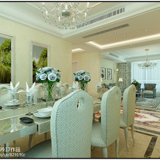 三居餐厅欧式实景图片欣赏