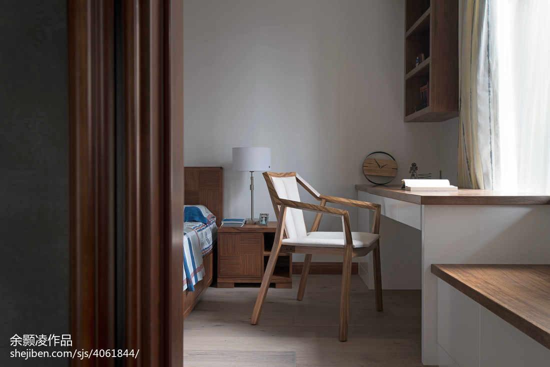 精美面积122平中式四居卧室装修实景图片欣赏