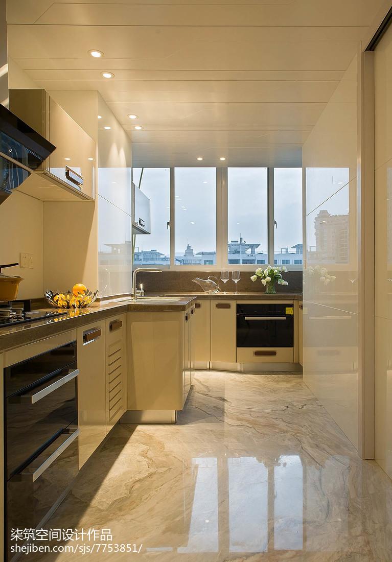 优雅现代风格厨房装修