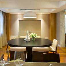 热门面积118平复式餐厅现代装修效果图
