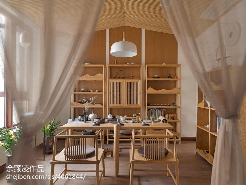 2018精选123平米四居休闲区中式装修效果图片欣赏
