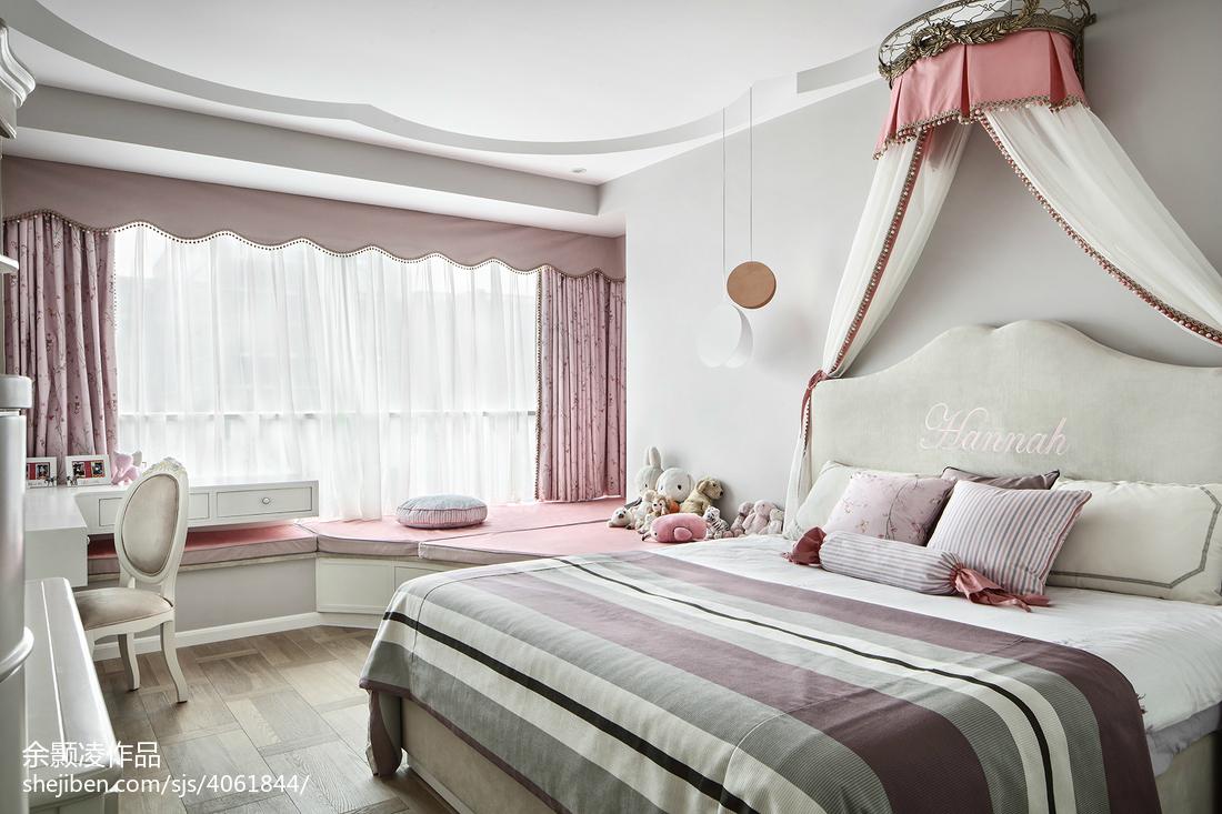 2018面积142平混搭四居儿童房装修实景图片欣赏