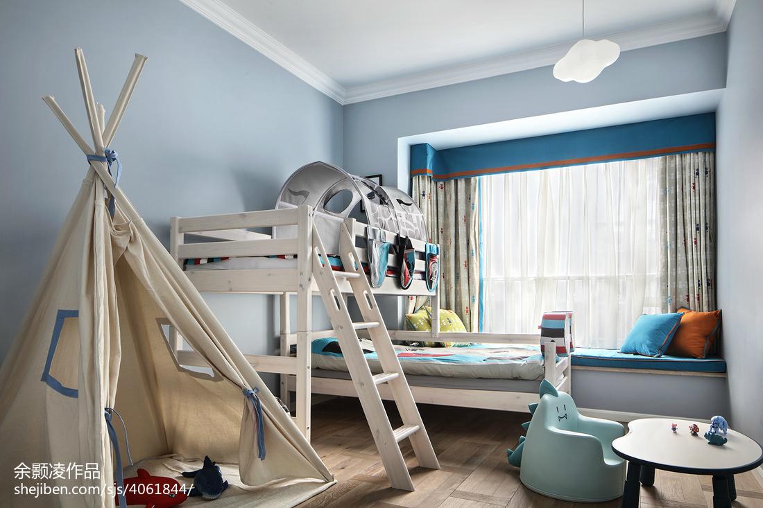 精选面积115平混搭四居儿童房装修效果图片