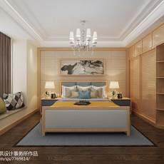 精美82平米二居卧室现代实景图片欣赏
