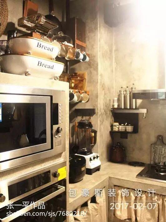 现代格调厨房效果图