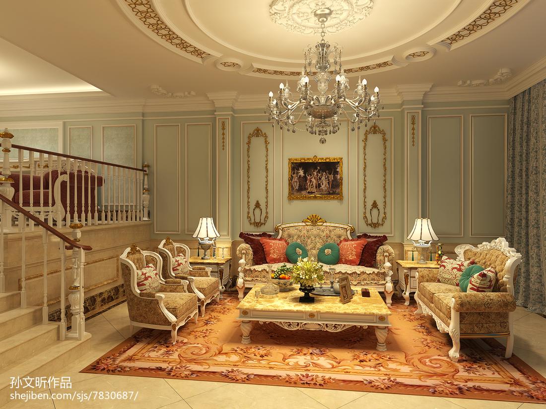 混搭时尚家居别墅设计