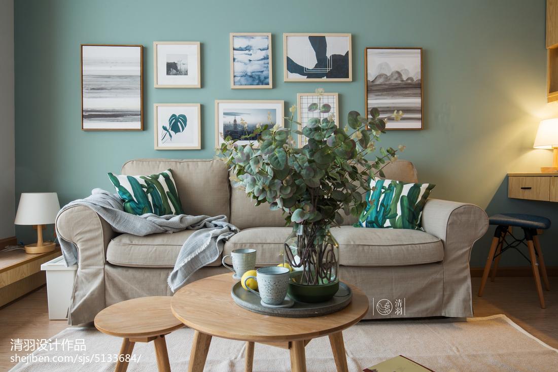 大气33平北欧小户型客厅装修图
