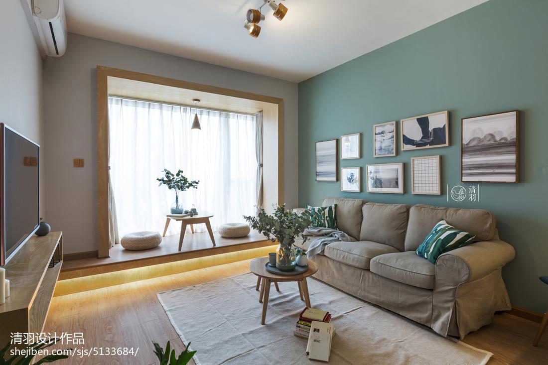 热门小户型客厅北欧装修欣赏图片