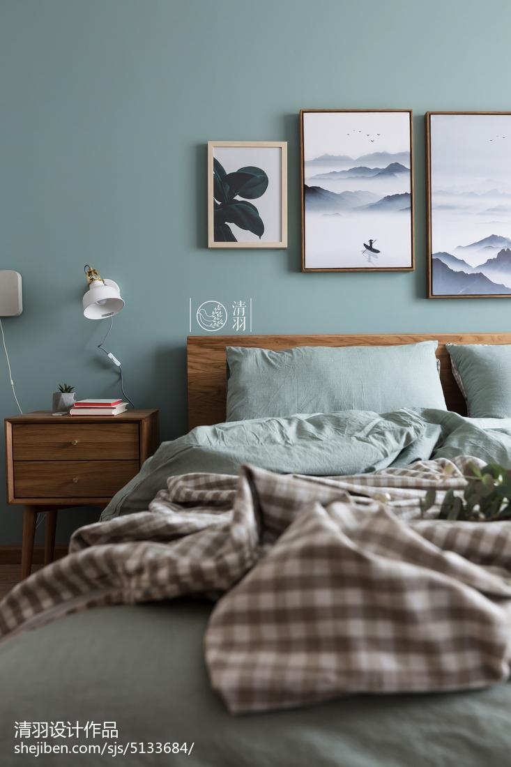 精选北欧小户型卧室装修设计效果图片大全