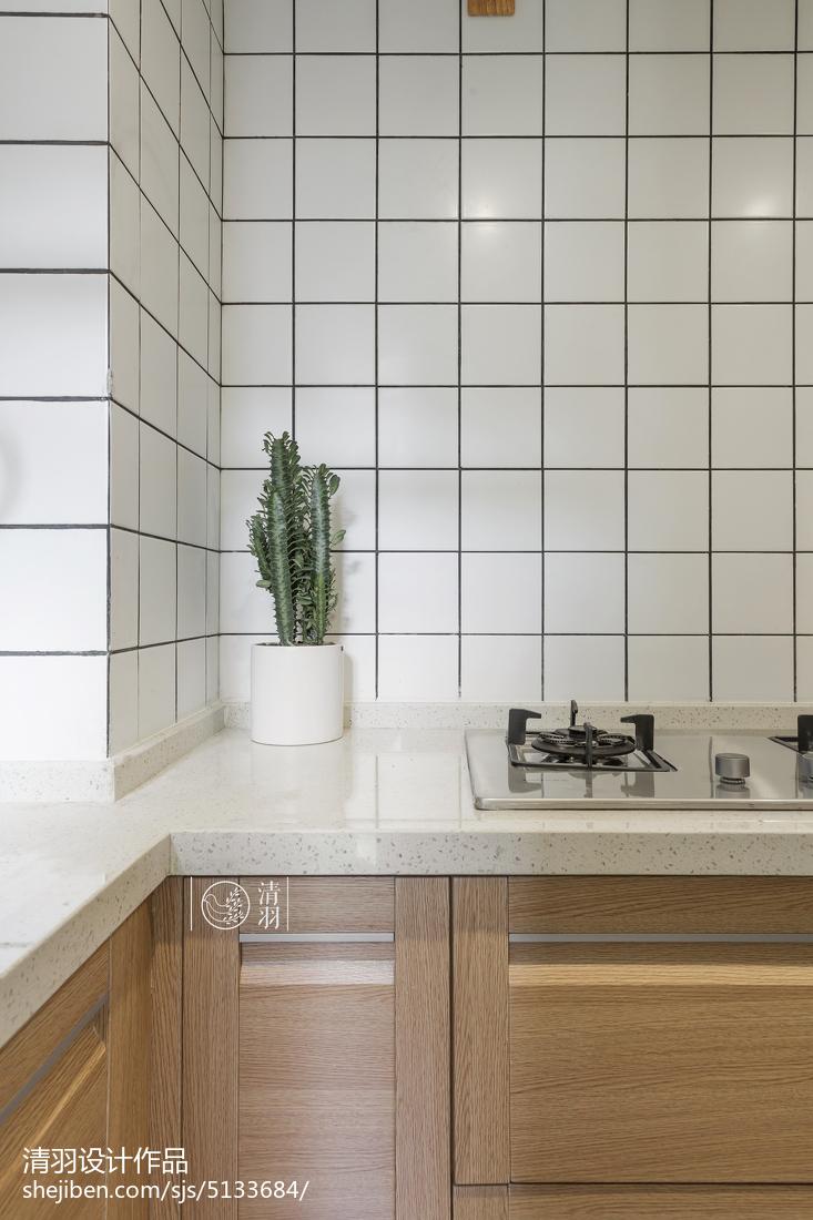 2018小户型厨房北欧装修效果图
