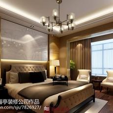 2018精选97平方三居卧室现代装修实景图