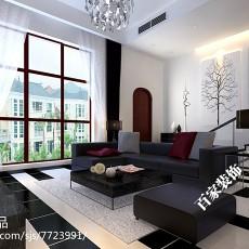 现代风格小客厅装修效果图大全