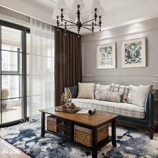 优雅82平美式二居装饰美图