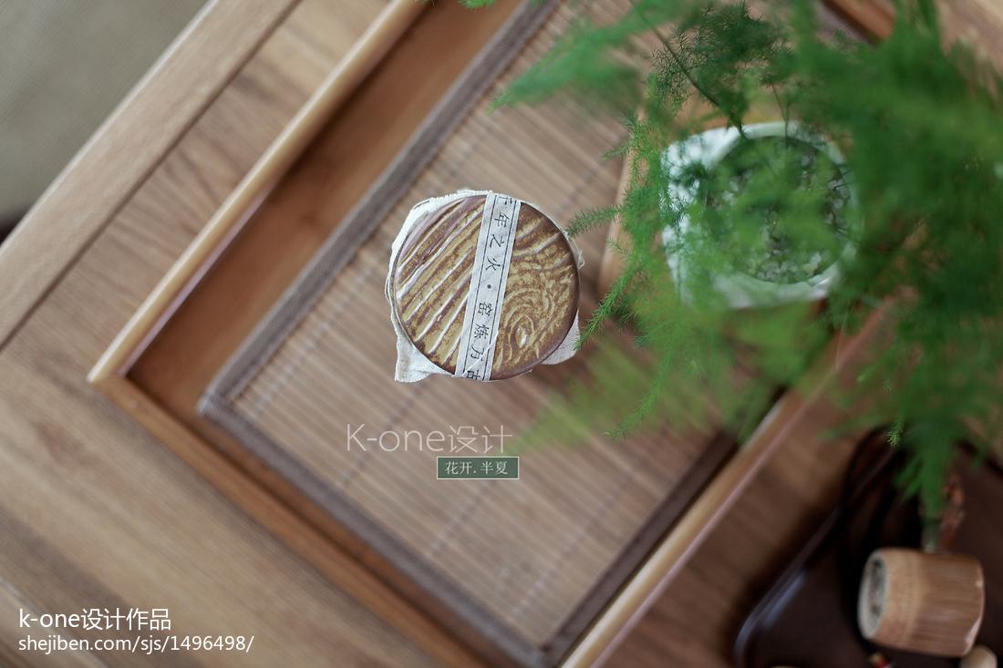 热门面积91平中式三居客厅效果图片欣赏