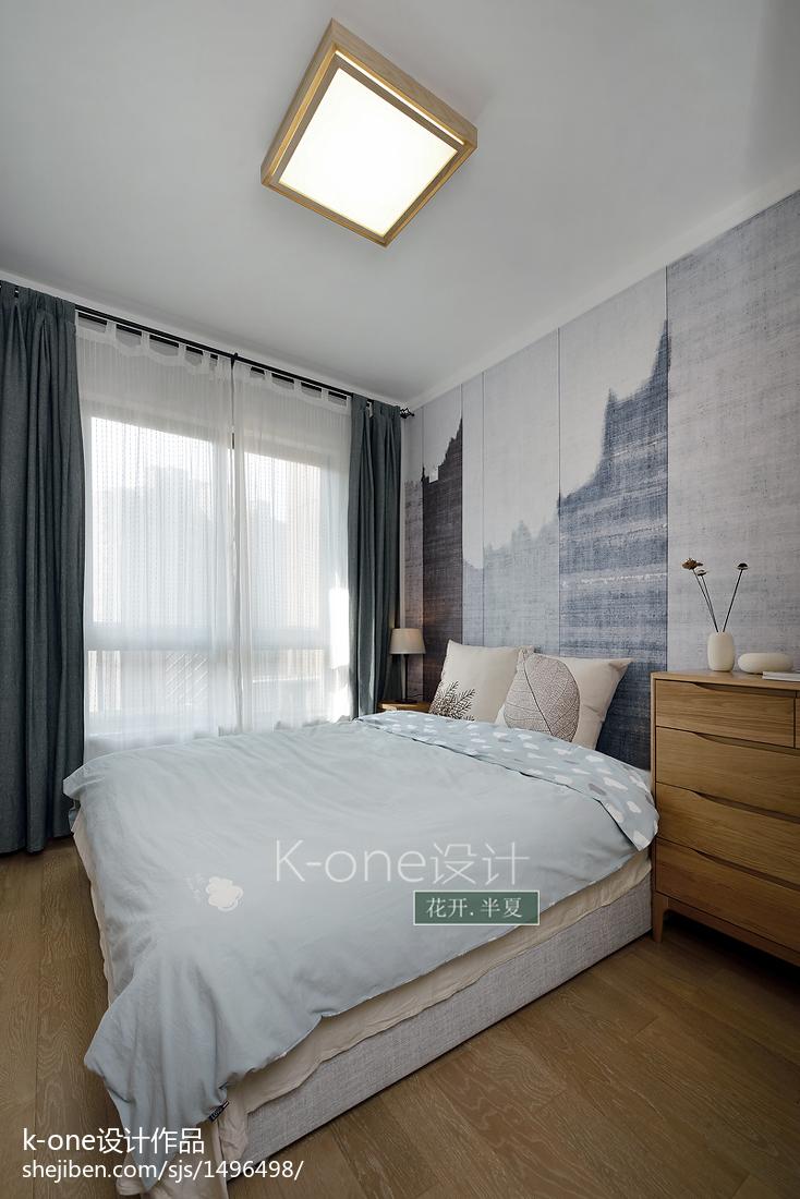 中式卧室背景图