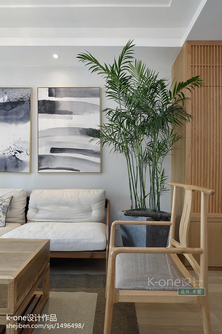2018中式三居客厅设计效果图