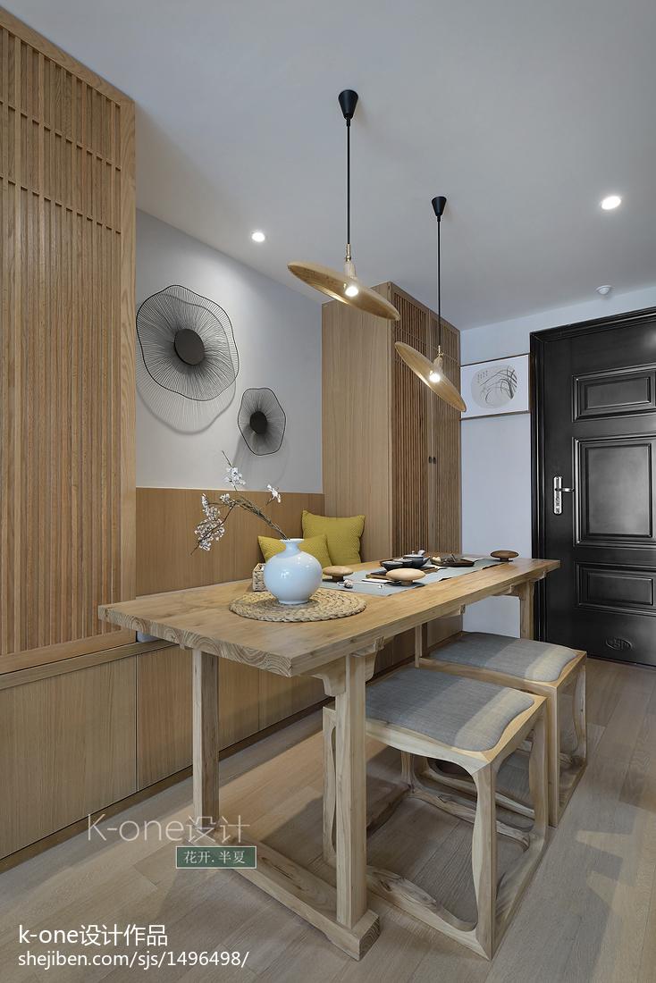 精美97平米三居餐厅中式装修效果图片欣赏