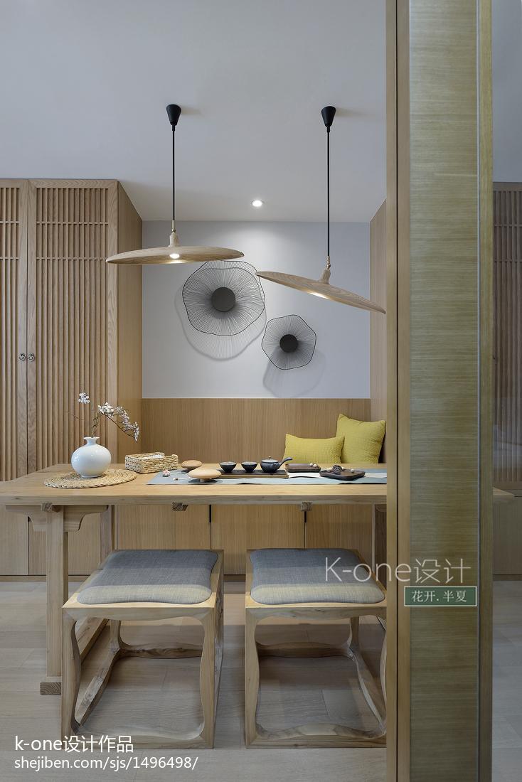 精美面積98平中式三居餐廳裝修效果圖片