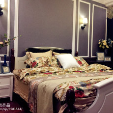 83平米二居卧室美式效果图片大全