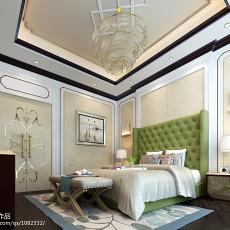 现代二居室室内设计效果图
