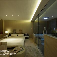 中式复古风格卧室装修图片