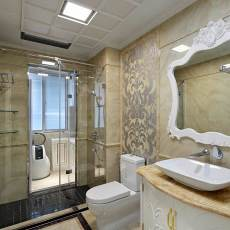 热门120平米四居卫生间新古典装修设计效果图片欣赏