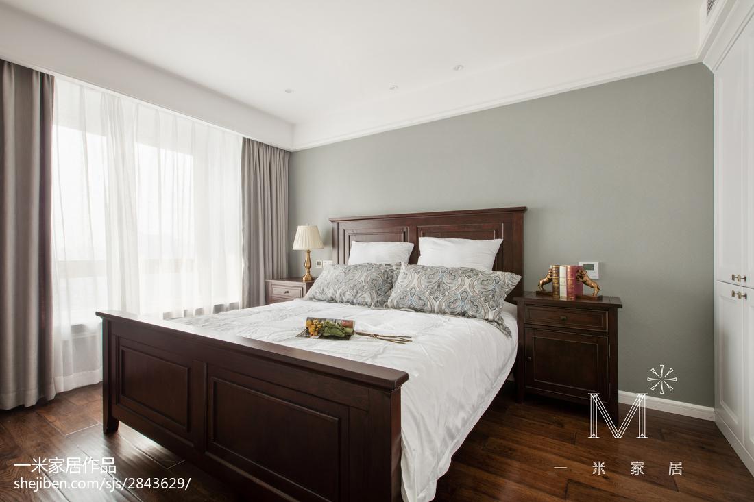 精美121平美式三居装修案例