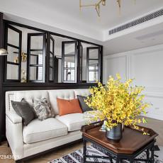 浪漫129平美式三居客厅装修美图