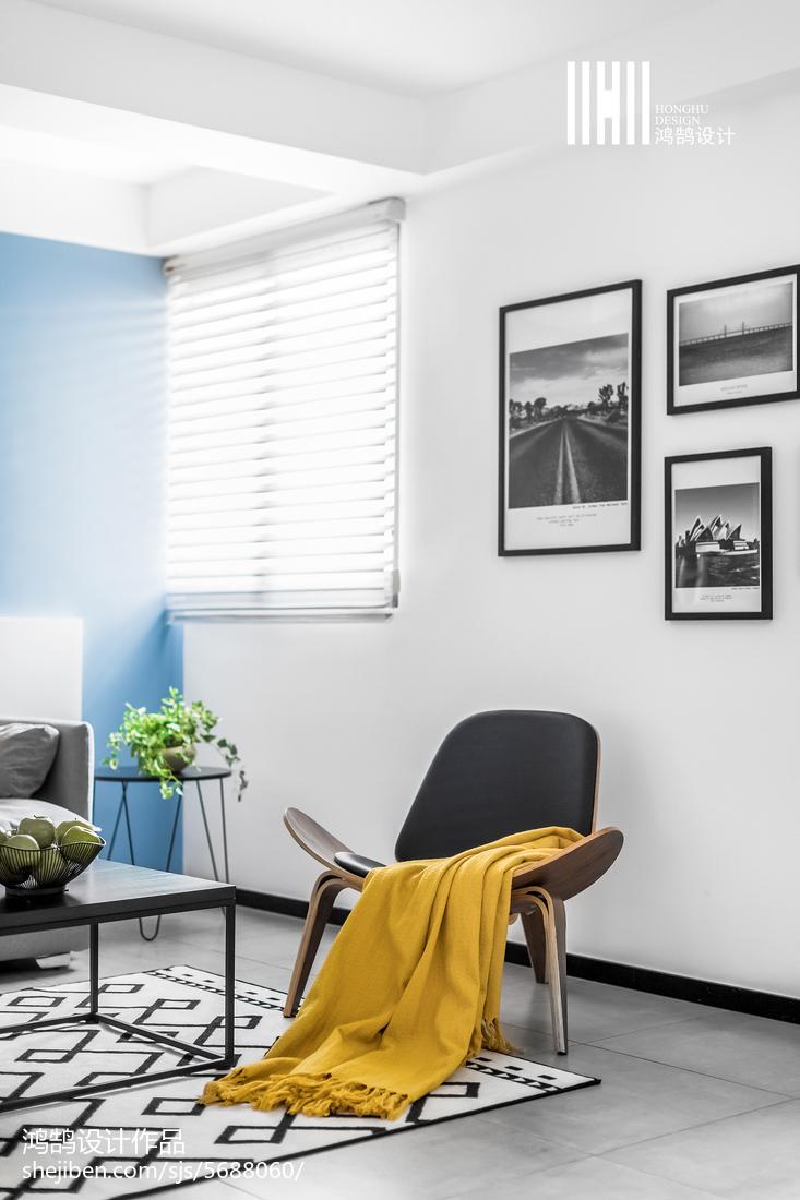 精选北欧二居客厅装饰图片欣赏