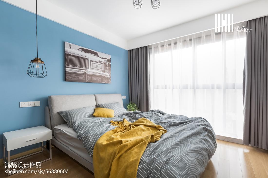 二居卧室北欧装饰图片欣赏