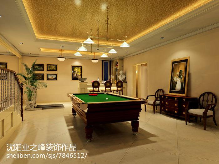 美式家庭餐厅室内装饰效果图片