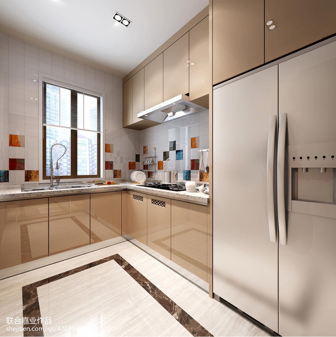 家庭酒柜设计图_家庭餐厅酒柜设计图-土巴兔装修效果图