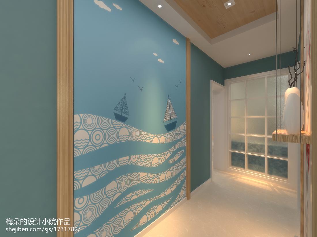 现代裸色卧室装饰