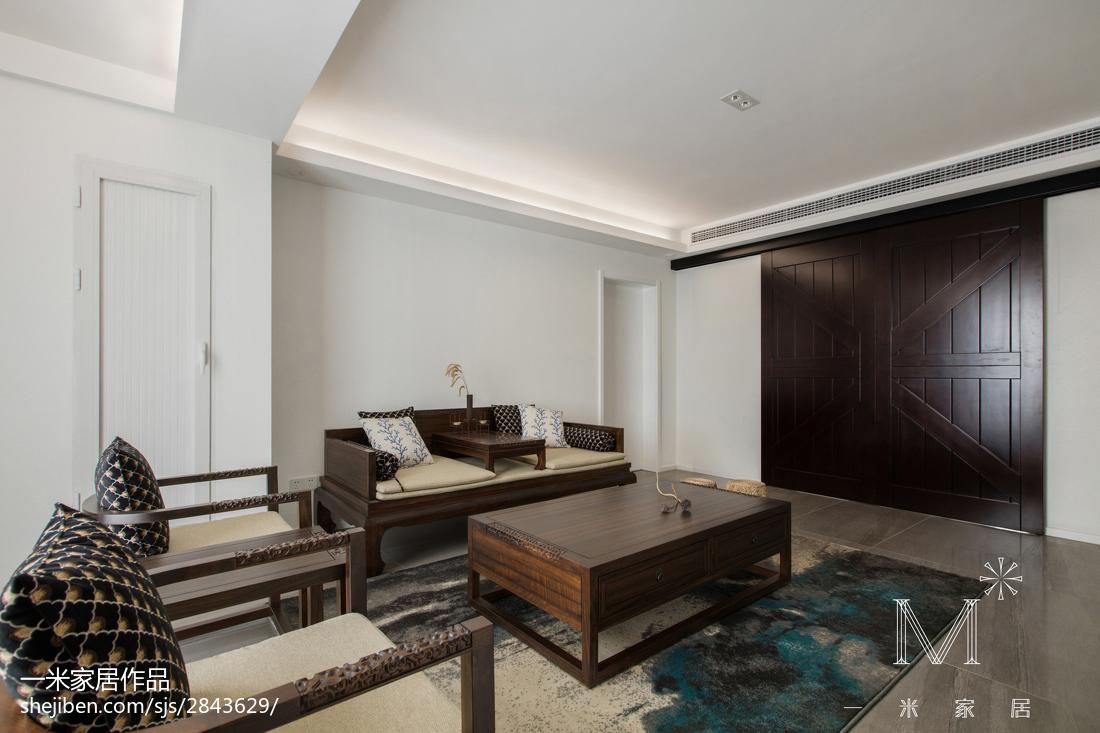 精美大小109平中式三居客厅效果图片