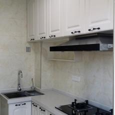 精选美式三居厨房装修效果图片大全