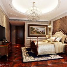 现代简约风格四室两厅两卫装修效果图