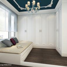 新中式风格120平米三居室装修客厅图片