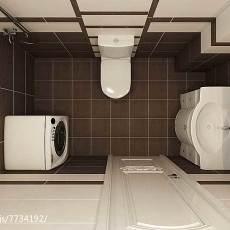 现代三居卫生间装修设计效果图
