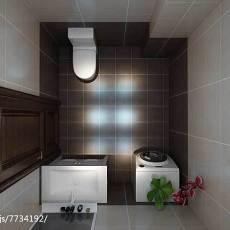 精选92平米三居卫生间现代装修实景图片大全