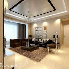 201879平米二居客厅现代设计效果图